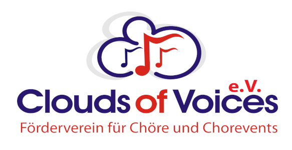 Clouds of Voices e.V. – Förderverein für Chöre und Chorevents