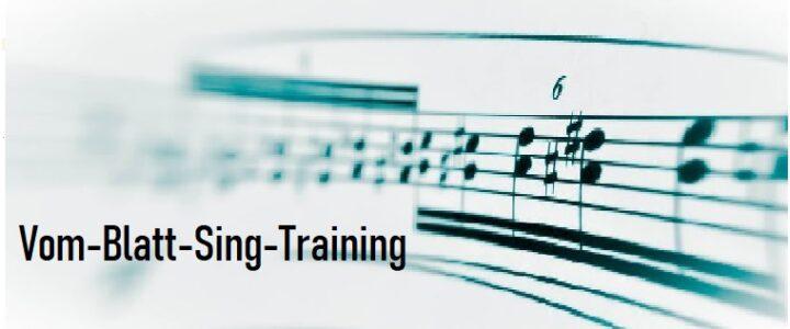 Vom-Blatt-Sing-Training